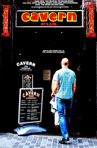 pub exterior door