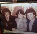 Diane Heckle with Bill Heckle & Denny Laine in the Cavern