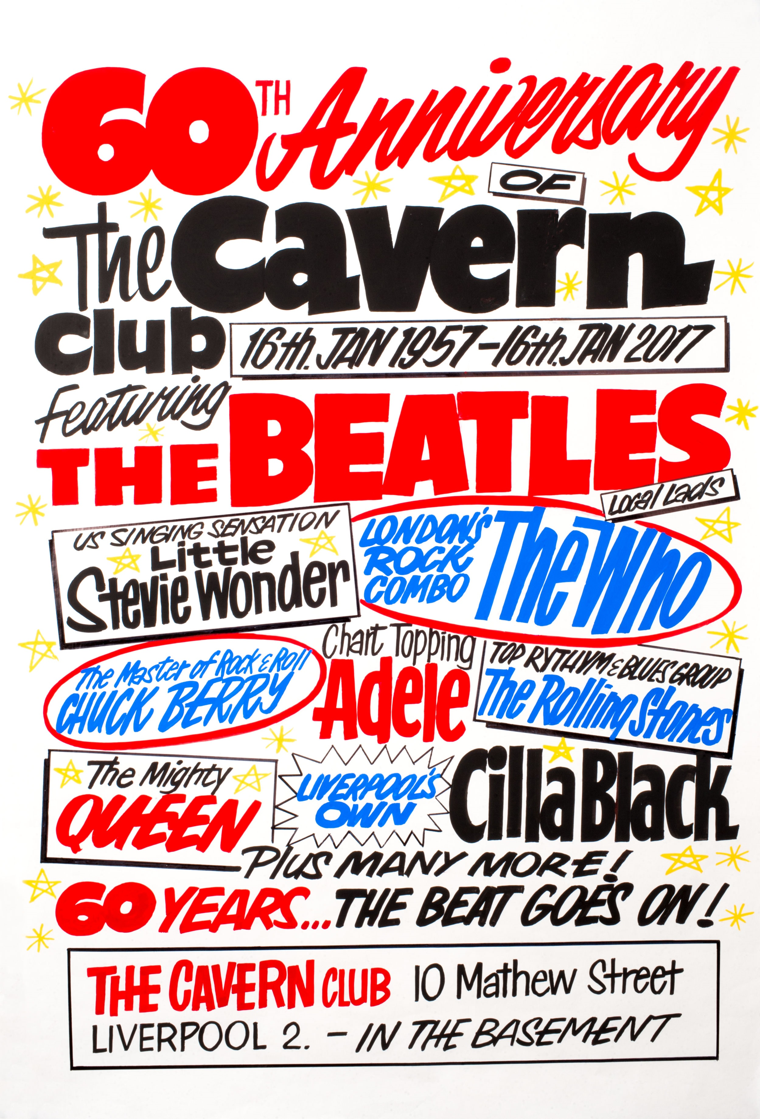 celebrate 60 years of the cavern cavern club. Black Bedroom Furniture Sets. Home Design Ideas